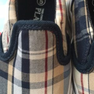 THE CHILDREN'S PLACE Madras Slip-On Sneakers